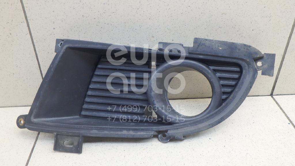 Купить Решетка в бампер левая Mitsubishi Lancer (CS/Classic) 2003-2008; (MN126455)