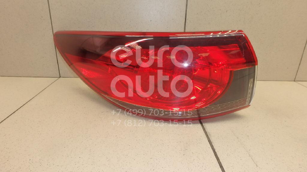 Купить Фонарь задний наружный левый Mazda Mazda 6 (GL) 2016-; (GJR951160A)