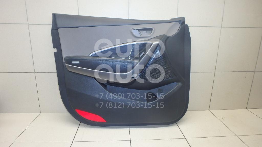 Купить Обшивка двери передней левой Hyundai Grand Santa Fe 2013-; (82307B8010VFG)