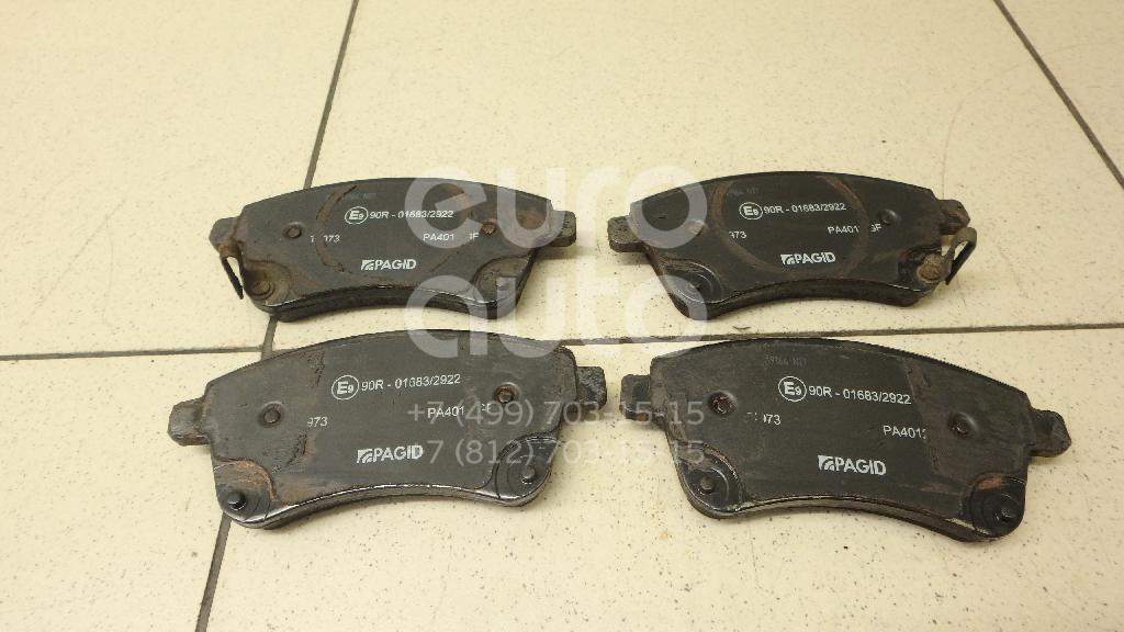 Купить Колодки тормозные передние к-кт Kia Venga 2010-; (T1973)