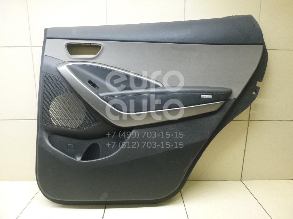 Купить Обшивка двери задней правой Hyundai Grand Santa Fe 2013-; (83308B8070VFG)