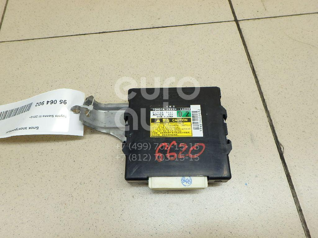 Купить Блок электронный Toyota Sienna III 2010-; (8963045020)