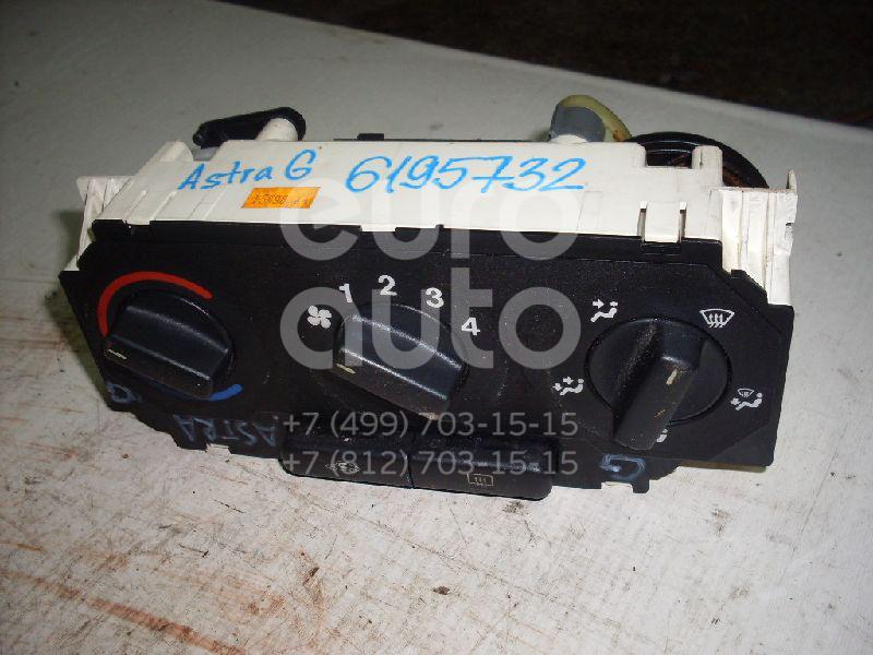 Блок управления отопителем Opel Astra G 1998-2005; (90560365)  - купить со скидкой