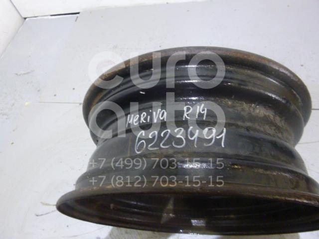 Диск колесный железо для Opel Meriva 2003-2010 - Фото №1