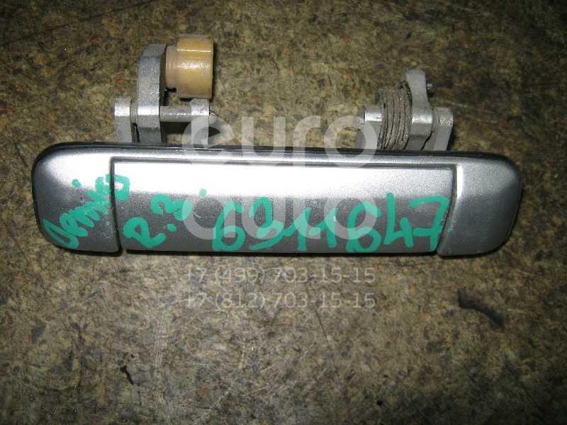 Ручка двери задней наружная правая для Mazda Demio DW 1998-2000 - Фото №1