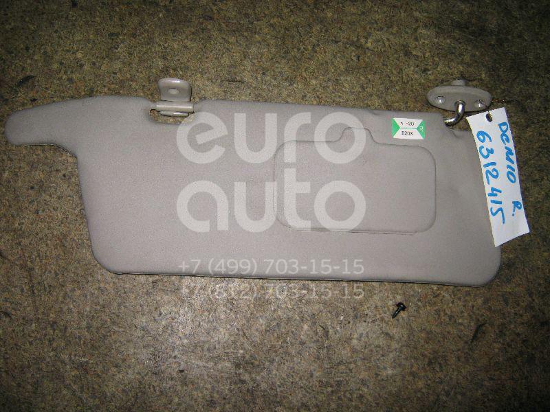 Козырек солнцезащитный (внутри) для Mazda Demio DW 1998-2000 - Фото №1