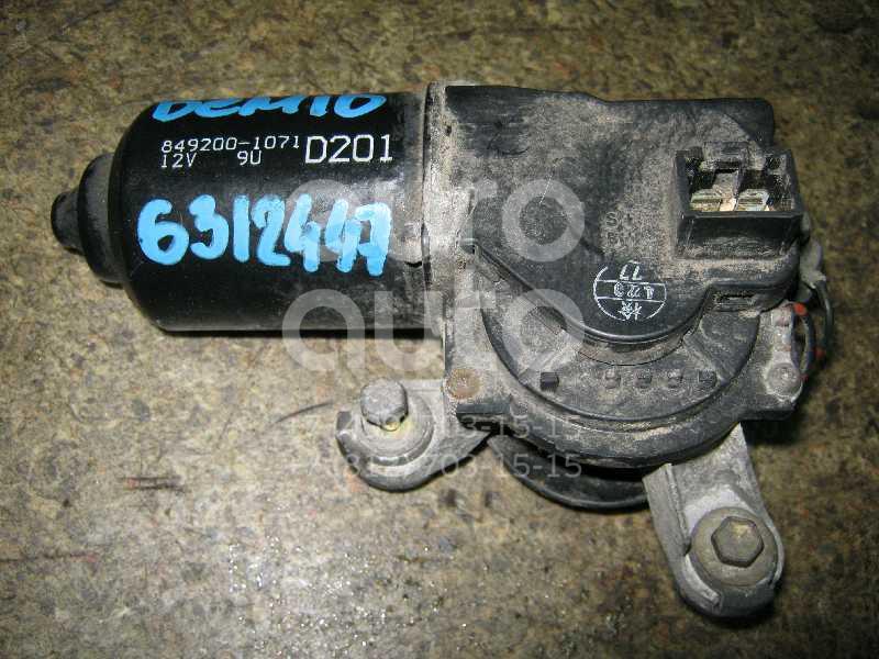 Моторчик стеклоочистителя передний для Mazda Demio DW 1998-2000 - Фото №1