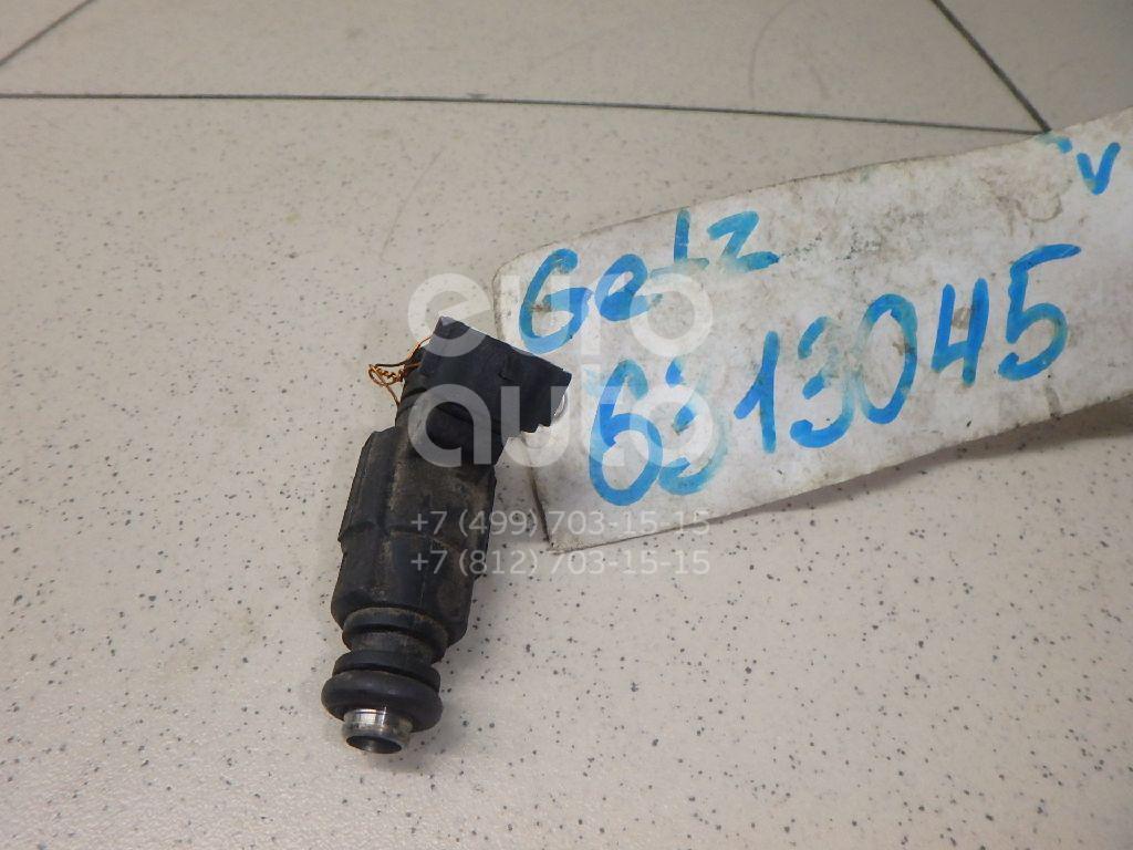 Форсунка инжекторная электрическая для Hyundai Getz 2002-2010;Elantra 2000-2005;Matrix 2001>;Coupe (GK) 2002>;Cerato 2004-2008;Accent II (+ТАГАЗ) 2000-2012 - Фото №1