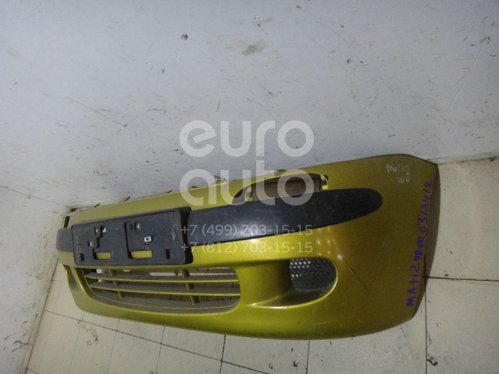 Бампер передний для Daewoo Matiz (M100/M150) 1998-2015 - Фото №1