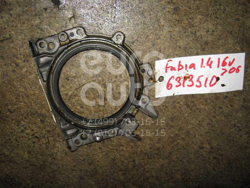 Крышка коленвала задняя для Skoda Fabia 1999-2006 - Фото №1