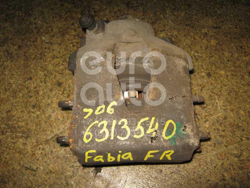 Суппорт передний правый для Skoda Fabia 1999-2006 - Фото №1