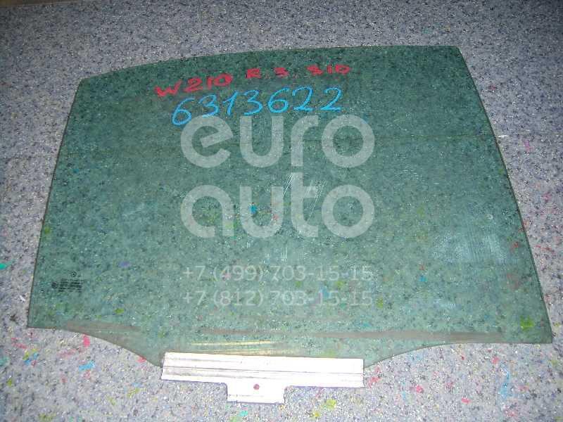 Стекло двери задней правой для Mercedes Benz W210 E-Klasse 2000-2002 - Фото №1