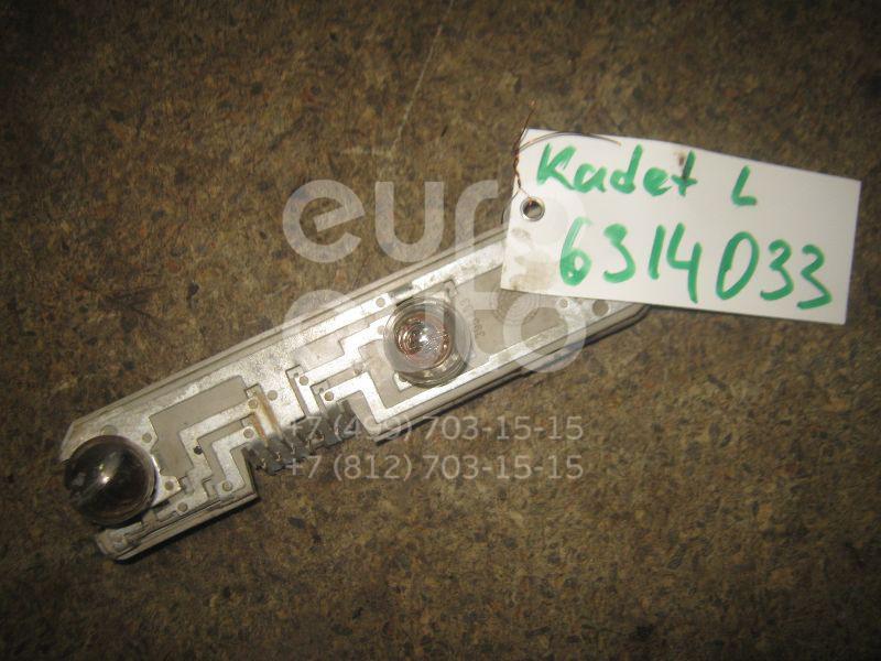 Плата заднего фонаря левого для Opel Kadett E 1984-1994 - Фото №1