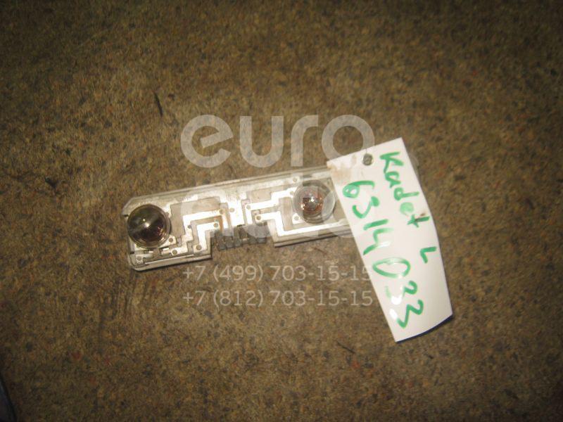 Плата заднего фонаря левого для Opel Kadett E 1984-1992 - Фото №1