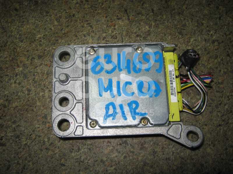 Блок управления AIR BAG для Nissan Micra (K12E) 2002-2010 - Фото №1