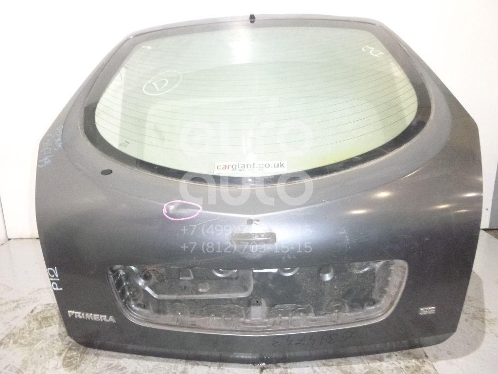 Дверь багажника со стеклом для Nissan Primera P12E 2002-2007 - Фото №1