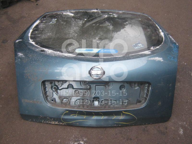 Дверь багажника со стеклом для Nissan Primera P12E 2002> - Фото №1