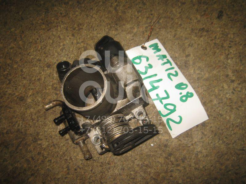 Заслонка дроссельная механическая для Daewoo Matiz 1998> - Фото №1