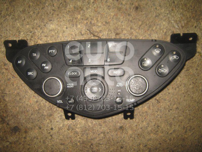 Блок управления климатической установкой для Nissan Primera P12E 2002-2007 - Фото №1
