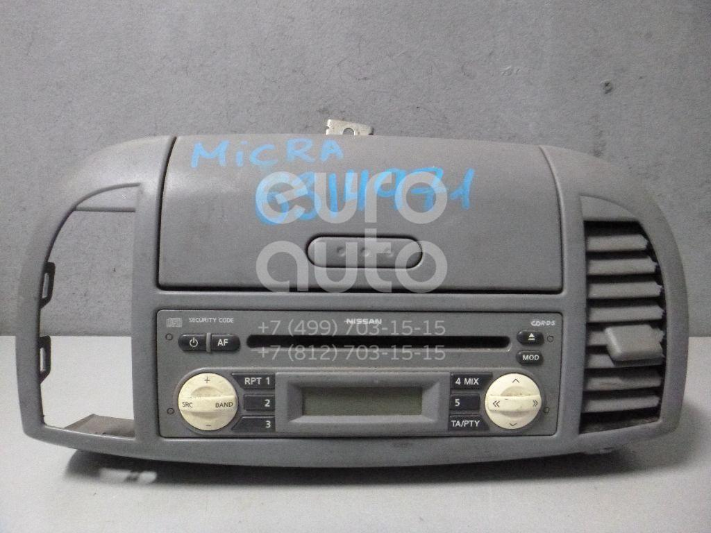 Магнитола для Nissan Micra (K12E) 2002-2010 - Фото №1