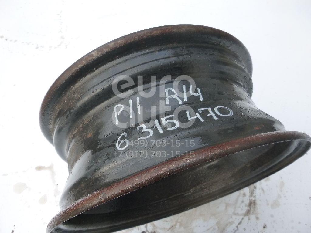 Диск колесный железо для Nissan Primera P11E 1996-2002 - Фото №1