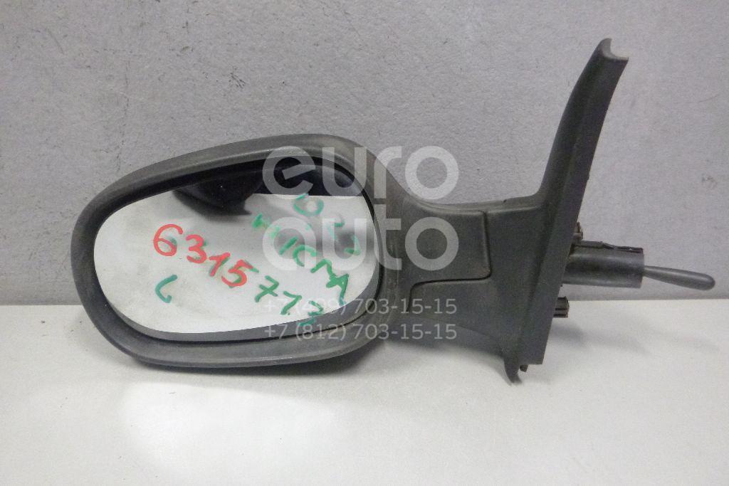 Зеркало левое механическое для Nissan Micra (K12E) 2002-2010 - Фото №1