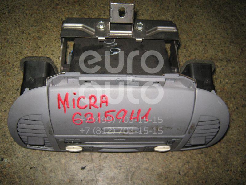 Магнитола для Nissan Micra (K12E) 2002> - Фото №1