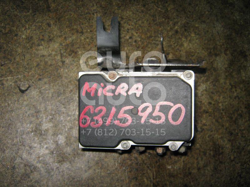 Блок ABS (насос) для Nissan Micra (K12E) 2002> - Фото №1