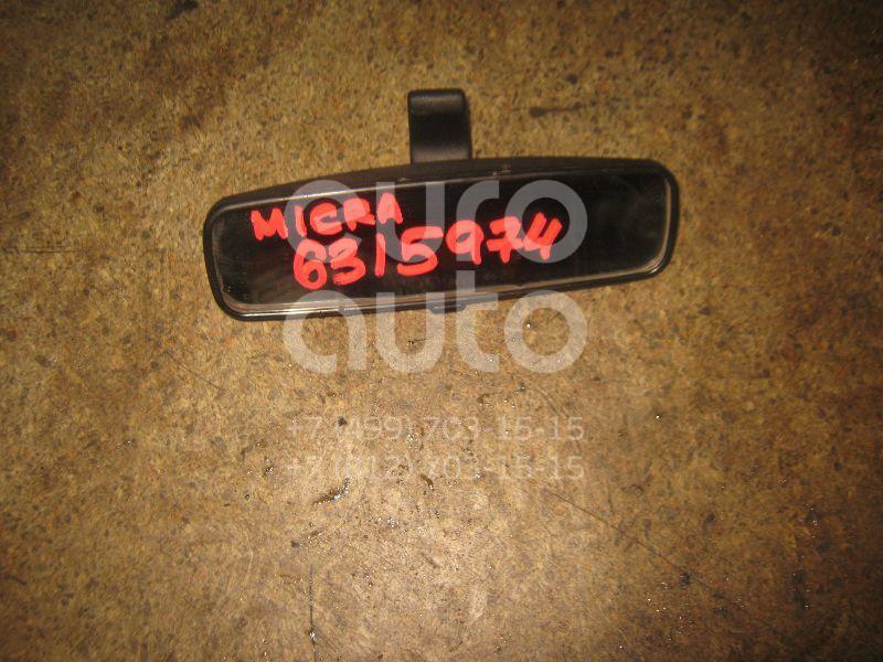 Зеркало заднего вида для Nissan Micra (K12E) 2002-2010;Note (E11) 2006-2013;Primera P12E 2002-2007;Qashqai (J10) 2006-2014;X-Trail (T31) 2007-2014;Juke (F15) 2011>;Qashqai+2 (JJ10) 2008-2014;Almera (G15) 2013>;Qashqai (J11) 2014> - Фото №1