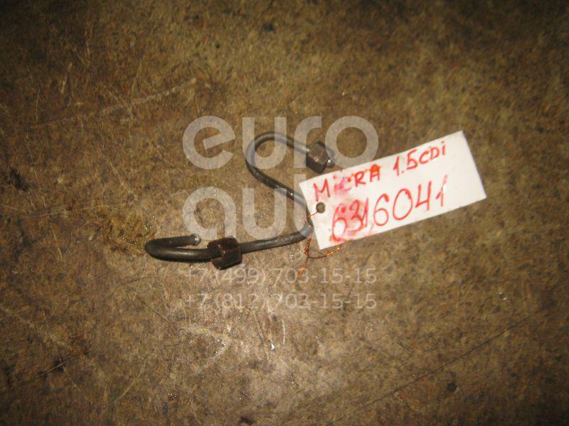 Трубка ТНВД для Nissan Micra (K12E) 2002> - Фото №1