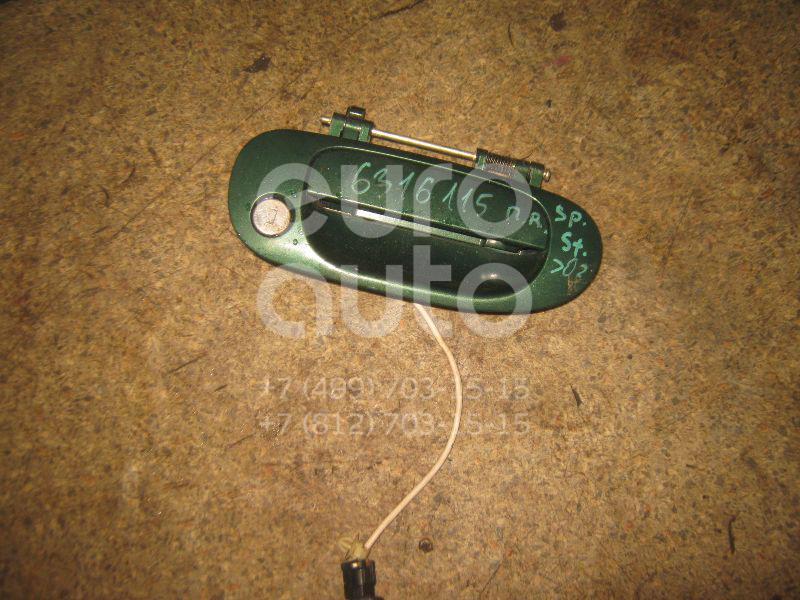 Ручка двери передней наружная правая для Mitsubishi Space Star 1998-2004 - Фото №1