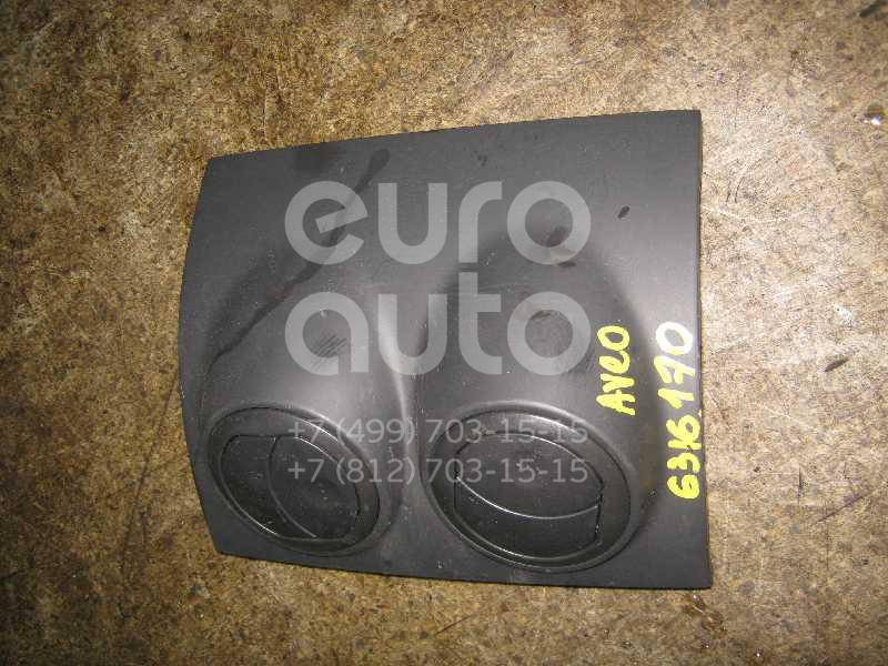Дефлектор воздушный для Chevrolet Aveo (T200) 2003-2008 - Фото №1