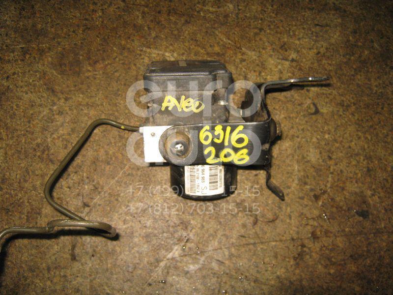 Блок ABS (насос) для Chevrolet Aveo (T200) 2003-2008;Aveo (T250) 2005-2011 - Фото №1