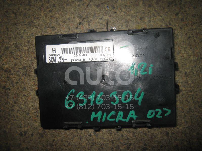 Блок управления центральным замком для Nissan Micra (K12E) 2002> - Фото №1