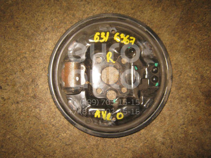Щит опорный задний правый для Chevrolet Aveo (T200) 2003-2008 - Фото №1