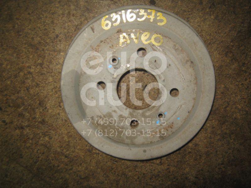 Барабан тормозной для Chevrolet Aveo (T200) 2003-2008 - Фото №1