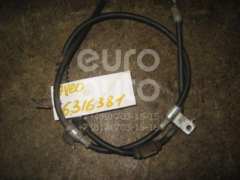 Трос стояночного тормоза для Chevrolet Aveo (T200) 2003-2008 - Фото №1
