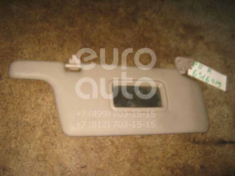 Козырек солнцезащитный (внутри) для Nissan Primera P11E 1996-2002 - Фото №1