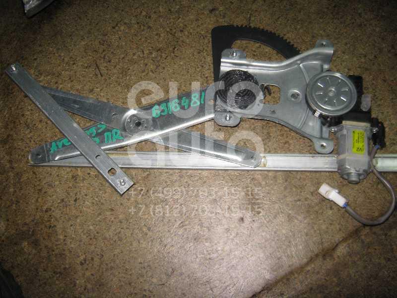 Стеклоподъемник электр. передний правый для Chevrolet Aveo (T200) 2003-2008;Aveo (T250) 2005-2011 - Фото №1