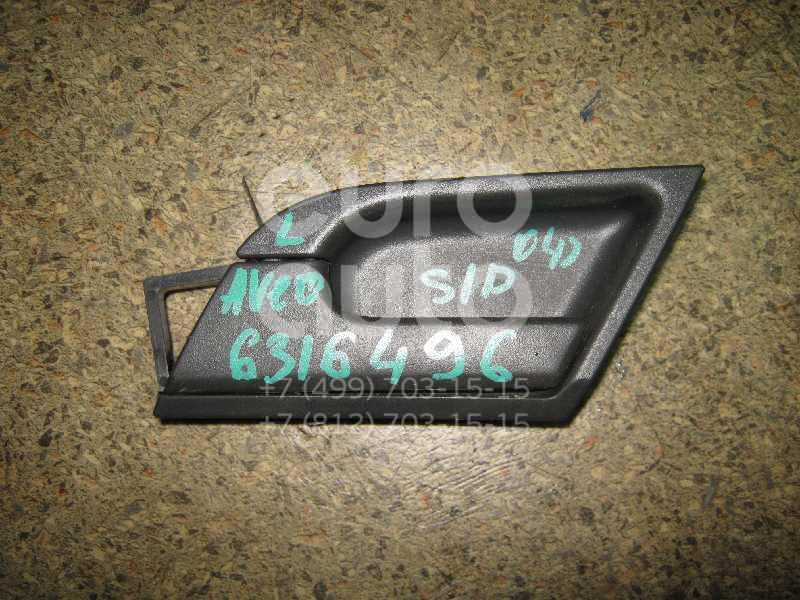 Ручка двери внутренняя левая для Chevrolet Aveo (T200) 2003-2008 - Фото №1