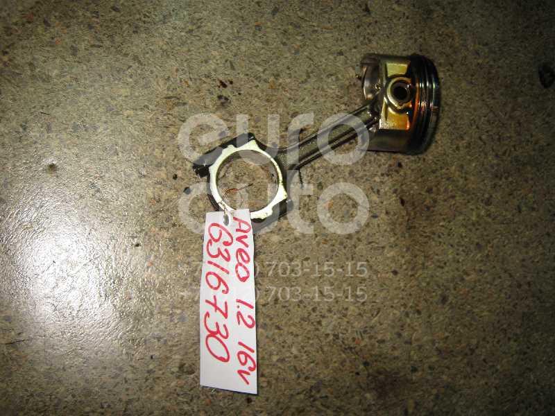Поршень с шатуном для Chevrolet Aveo (T200) 2003-2008 - Фото №1