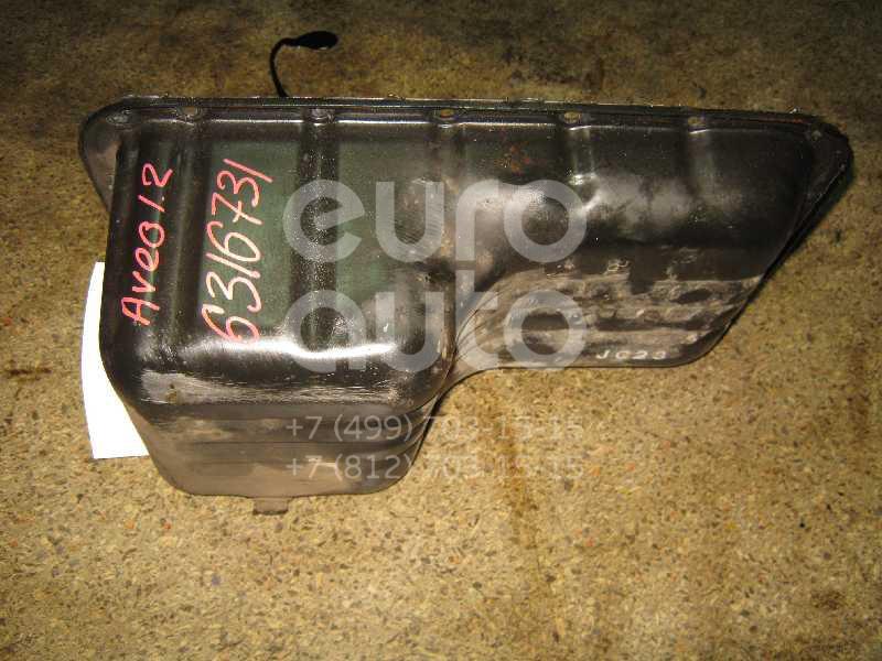 Поддон масляный двигателя для Chevrolet Aveo (T200) 2003-2008 - Фото №1