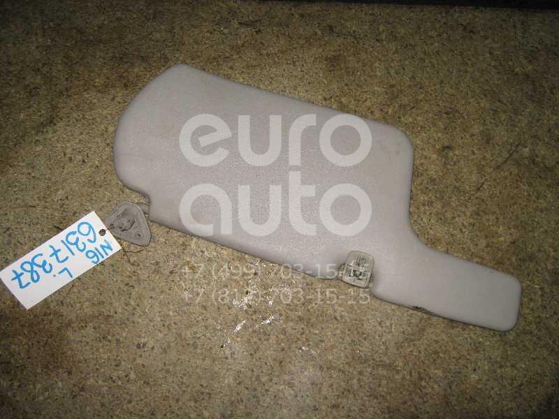 Козырек солнцезащитный (внутри) для Nissan Almera N16 2000-2006 - Фото №1