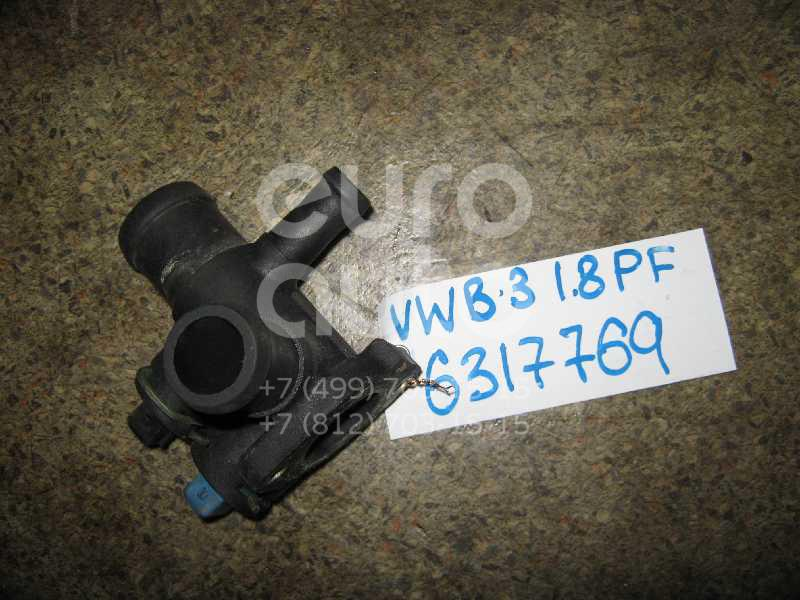 Фланец двигателя системы охлаждения для VW Passat [B3] 1988-1993;Golf II/Jetta II 1983-1992 - Фото №1