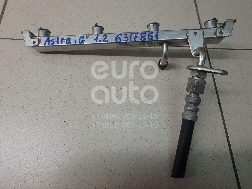 Рейка топливная (рампа) для Opel Astra G 1998-2005;Zafira A (F75) 1999-2005 - Фото №1