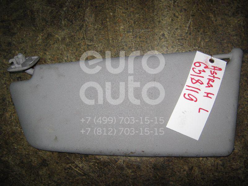 Козырек солнцезащитный (внутри) для Opel Astra H / Family 2004-2015 - Фото №1