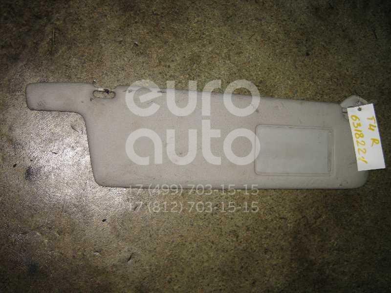 Козырек солнцезащитный (внутри) для VW Transporter T4 1991-1996 - Фото №1