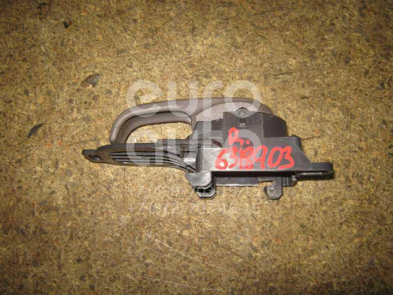 Ручка двери внутренняя правая для Nissan Micra (K12E) 2002-2010 - Фото №1