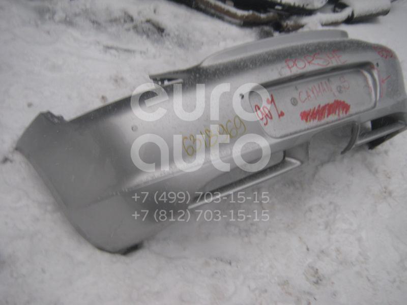 Бампер задний для Porsche Cayman (987) 2005-2012 - Фото №1