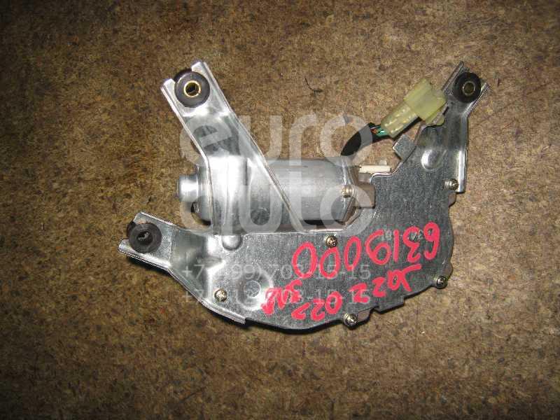 Моторчик стеклоочистителя задний для Honda Jazz 2002-2008 - Фото №1